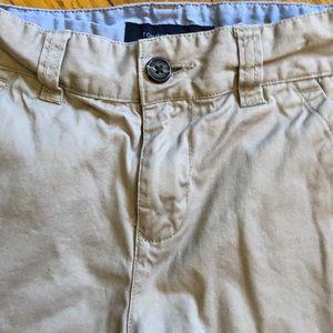 Boys khaki shorts size 14